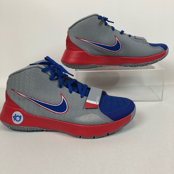 97ad059b3599 Nike KD TREY Mid Basketball Shoes Mens 13 Gray